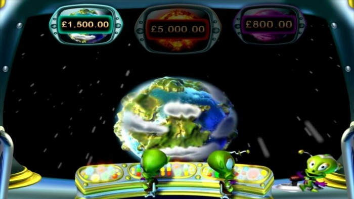 Bonus game in Money Mad Martians Cosmic Cash