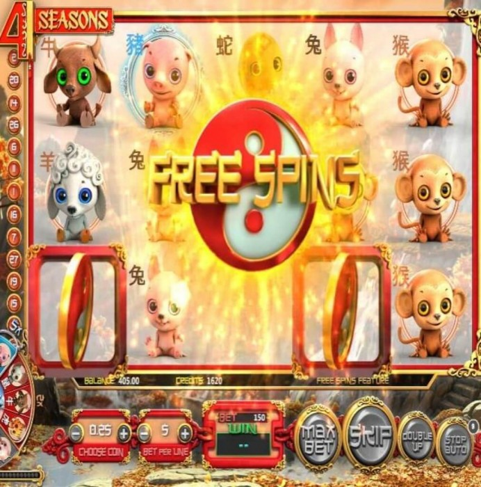 4 Seasons Slot Machine Online ᐈ BetSoft™ Casino Slots