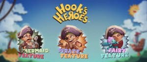 Hook's heroes netent bonus game feature free spins