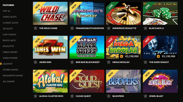 Slots game assortment volume guts