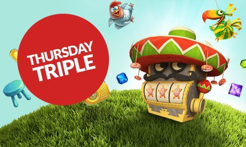 Thursday triple guts promotions bonus