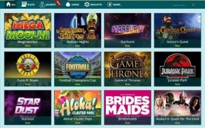 slots game assortment Luckland