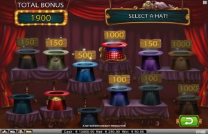 Simsalabim bonus game net entertainment slot
