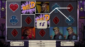 Wild Wild West wild feature bonus netent slot