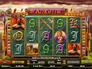 5 Knights NextGen Gaming slot Free Spins
