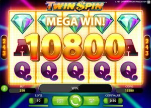 twin spin netent slot special feature