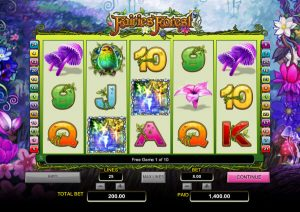 Fairies Forest NextGen Gaming free spins