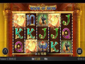 Book of Dead slot free spins play n go