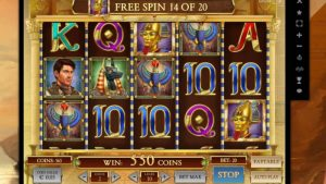 Book of Dead bonus game play n go slot