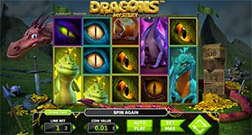 Dragons mystery stakelogic slot